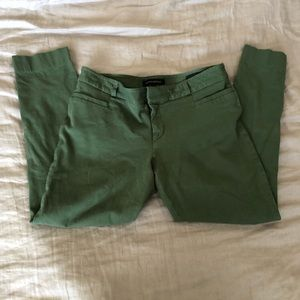 Banana republic button detail skinny pants